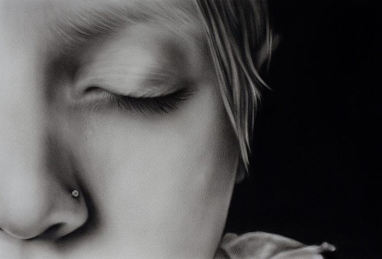 Portrait, Jana Geilhof, Ölgemälde, Focus, Kunst, Malerei, Fokus, Gemälde, Kunstwerk, Ölmalerei