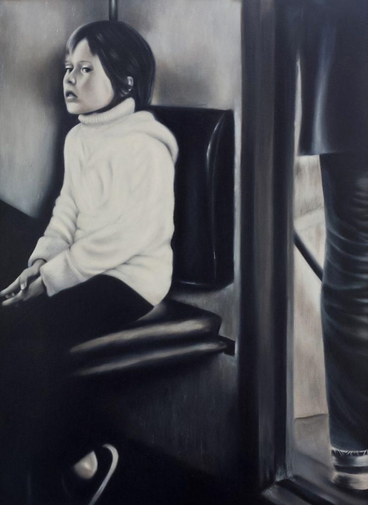 Portrait, Jana Geilhof, Ölgemälde, Mädchen, Malerei, Gemälde, Girl, Kunstwerk, Ölmalerei