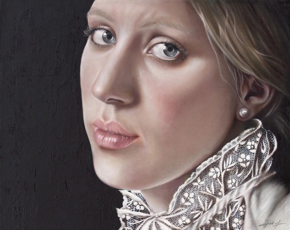 Portrait, Jana Geilhof, Touched, Ölgemälde, Kunst, Malerei, Gemälde, Kunstwerk, Ölmalerei