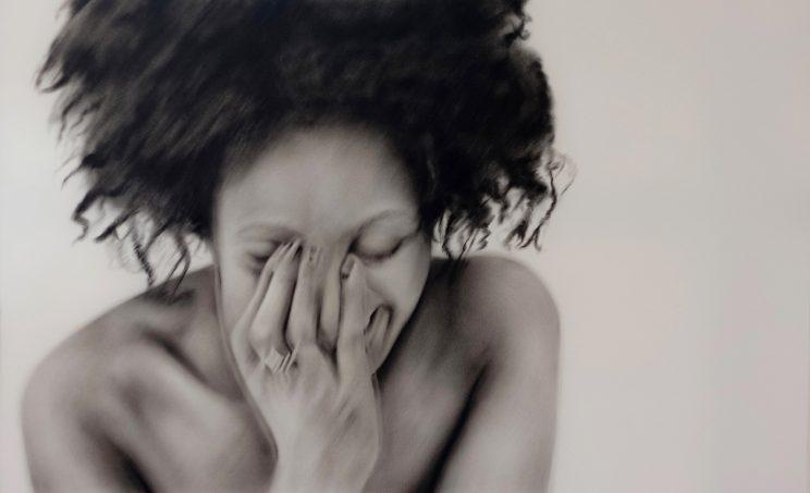 Portrait, Jana Geilhof, The Laugher, Ölgemäldef, Kunst, Malerei, Gemälde, Kunstwerk, Ölmalerei