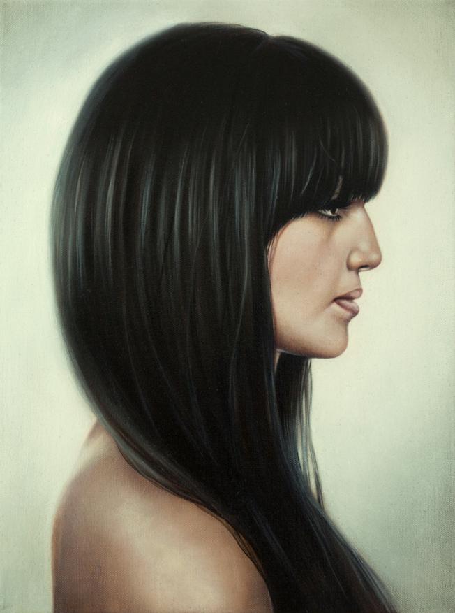 Portrait, Jana Geilhof, Profile, Ölgemälde, Kunst, Malerei, Gemälde, Kunstwerk, Ölmalerei