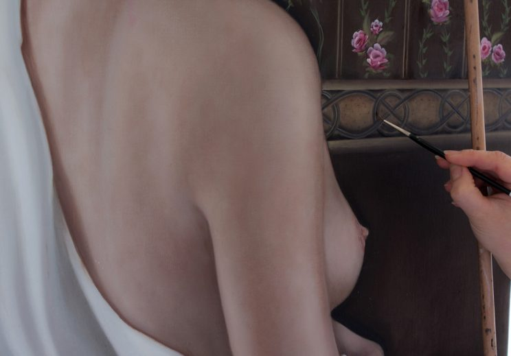 Körper, Ölgemälde, Jana Geilhof, Kunst, Malerei, Gemälde, Kunstwerk, Ölmalerei