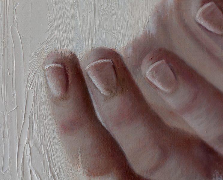 Hand, Körper, Jana Geilhof, Ölgemälde, Figurative, Kunst, Malerei, Gemälde, Kunstwerk, Ölmalerei