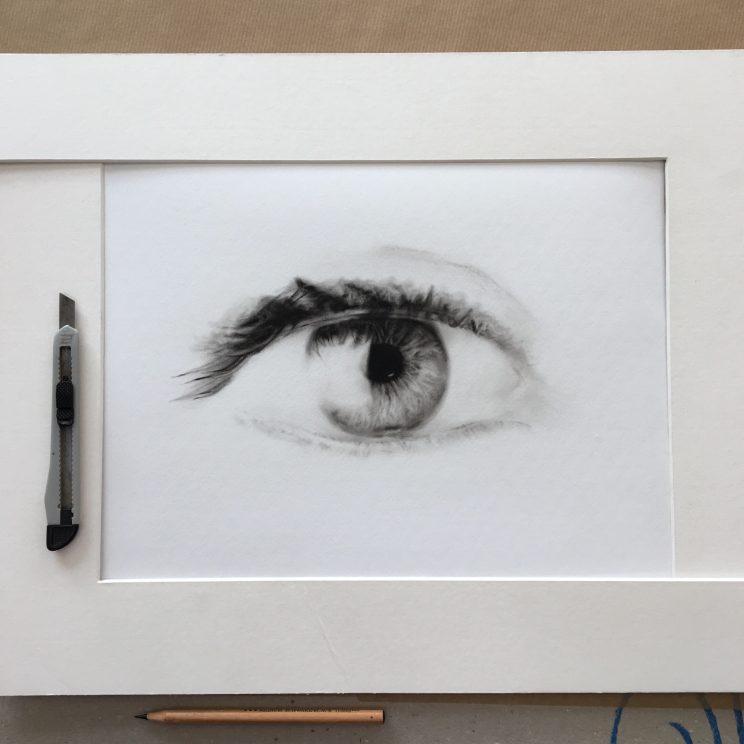 Auge, Ölgemälde, Jana Geilhof, Kunst, Malerei, Gemälde, Kunstwerk, Ölmalerei
