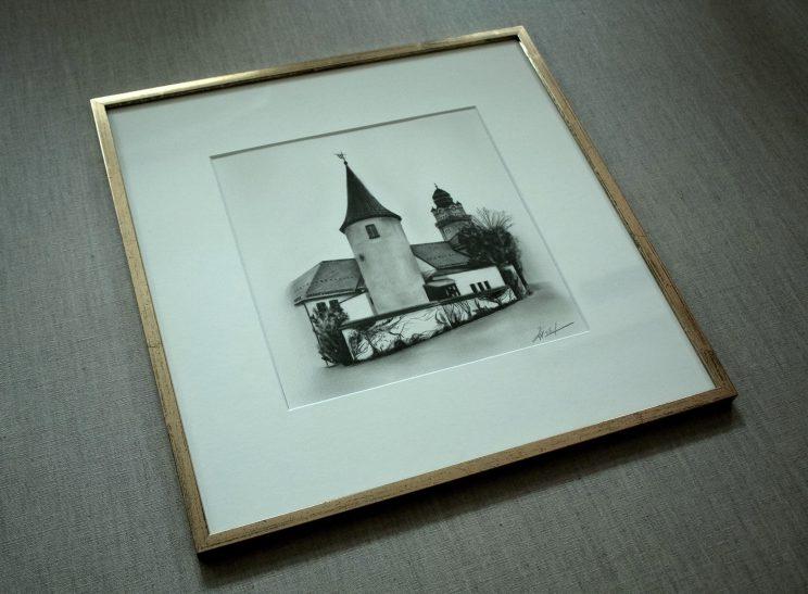 Nonnenturm Plauen, Jana Geilhof, Rathaus, Ölgemälde, Malerei, Kunstwerk, Ölmalerei, Kunst