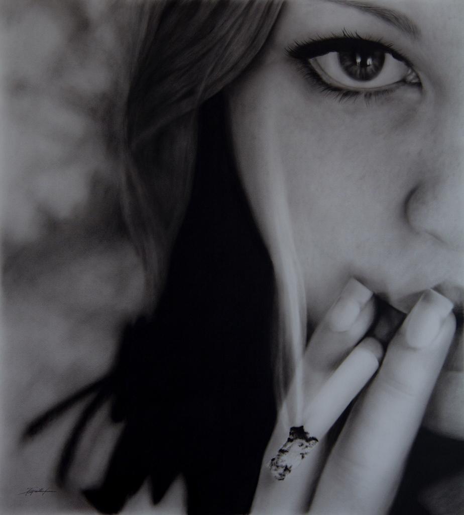 Portrait, Jana Geilhof, Ölgemälde, Hide and Seek, Kunst, Malerei, Gemälde, Kunstwerk, Ölmalerei