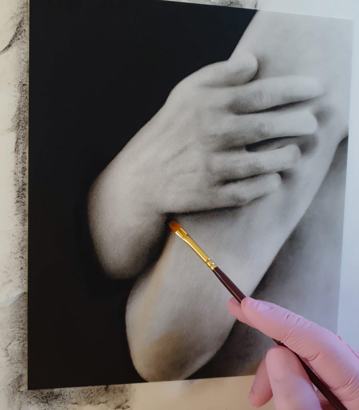 Körper, Jana Geilhof, Ölgemälde, Figurative, Kunst, Malerei, Gemälde, Kunstwerk, Ölmalerei
